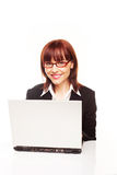 Smiling Efficient Secretary Royalty Free Stock Photography