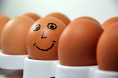 Smiling Egg Stock Photos
