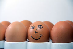Smiling Egg Royalty Free Stock Images