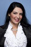 Smiling elegant woman Royalty Free Stock Images