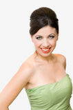 Smiling elegant woman Stock Photography