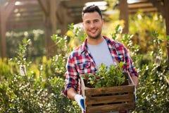 Garden Center Employee Royalty Free Stock Photo