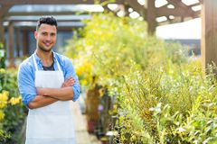 Garden Center Employee Stock Image