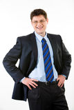 Smiling employer Royalty Free Stock Photos