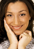 Smiling ethnic woman Royalty Free Stock Image