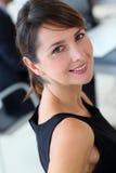 Smiling executive woman Stock Photo