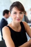 Smiling executive woman Royalty Free Stock Image