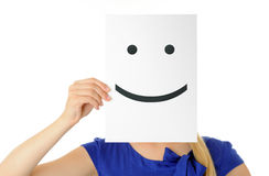 Smiling face Stock Photo