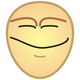 Smiling face Royalty Free Stock Photography