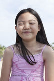 Smiling face of asian children Stock Images