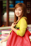Smiling face Asian woman Royalty Free Stock Image