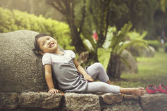 Smiling face of children Stock Photography