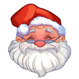 Smiling face of santa Royalty Free Stock Image