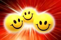 Smiling faces Royalty Free Stock Image