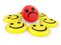 Smiling faces Stock Images