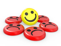 Smiling faces Stock Photography
