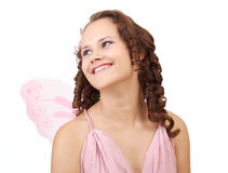 Smiling fairy. Stock Image