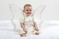 Smiling fairy Stock Images