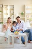 Smiling family Royalty Free Stock Image