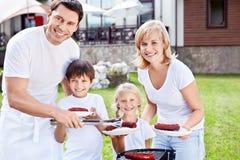 Smiling family Stock Image