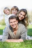 Smiling family Royalty Free Stock Images