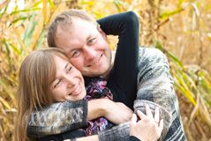Smiling family couple Stock Photography