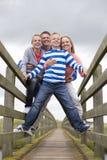 Smiling Family Portrait Royalty Free Stock Photo