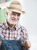 Smiling farmer Royalty Free Stock Photo