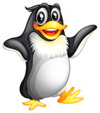 A smiling fat penguin Royalty Free Stock Photography