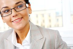 Smiling female Stock Photography
