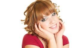 Smiling female Stock Photos