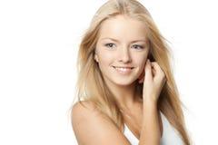 Smiling female Royalty Free Stock Image