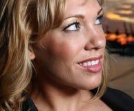 Smiling female Stock Photography