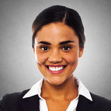Smiling female business executive Royalty Free Stock Photography