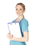 Smiling female doctor Royalty Free Stock Image