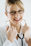 Smiling female doctor Royalty Free Stock Photo