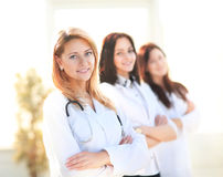 Smiling female doctor Royalty Free Stock Photos