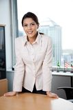 Smiling Female Executive Stock Images