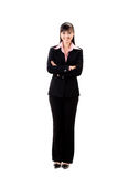 Smiling female executive stock photography