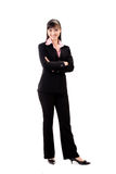 Smiling female executive royalty free stock image