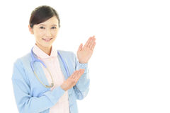 Smiling female nurse Stock Photography