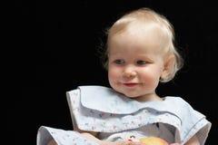 Smiling female toddler Royalty Free Stock Image