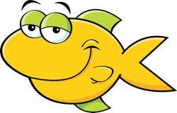 Smiling fish vector illustration