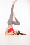 Shoulder Stand Royalty Free Stock Photos