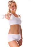 Smiling Fitness Beauty Royalty Free Stock Photography