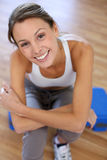 Smiling fitness girl Royalty Free Stock Photography