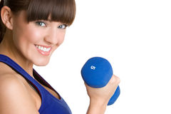Smiling Fitness Girl Royalty Free Stock Image