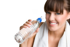 Smiling Fitness Woman Royalty Free Stock Image