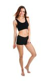 Smiling fitness women Stock Photo