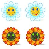 Smiling flower Royalty Free Stock Image